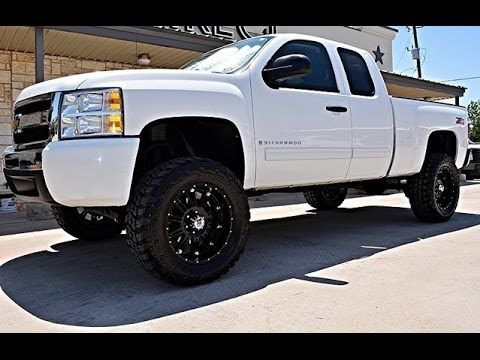 2009 Chevy Silverado 1500 LT 4WD Ext Cab Lifted Truck http://www.onlyliftedtrucks.com