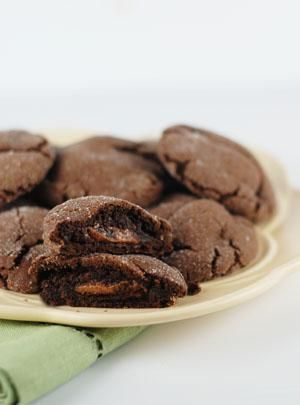 I love these!  Just made a fresh batch yesterday.  Don't even have to have rolos, they're so good!  Fudgey brownies as a cookie.  I skip the 'roll them in sugar' bit - adds more time, calories and mess.  You will not regret making these.