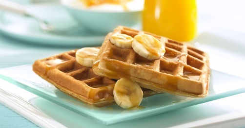 Add some zest to your day with delicious Tropical Waffles ...