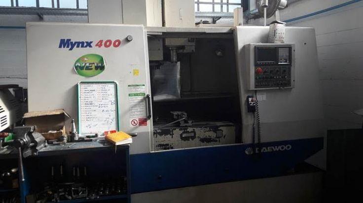 Offerta per Centro di lavoro Daewoo Mynx 400 usato, revisionato ed in ottimo stato. Decine di annunci per CENTRI DI LAVORO VERTICALI di seconda mano e per CENTRI DI LAVORO VERTICALI usati
