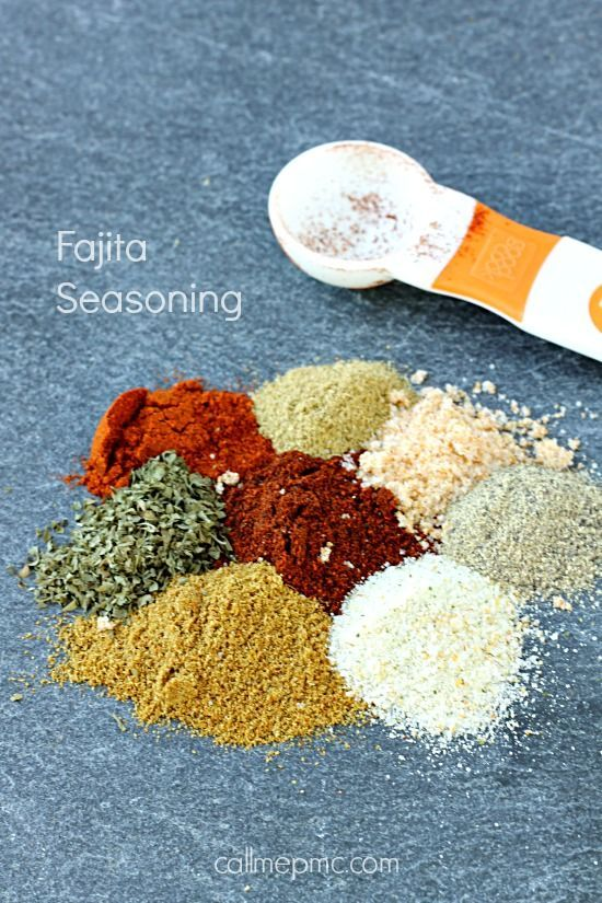 Homemade Fajita Seasoning Recipe