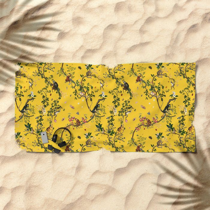 Summer is coming up! Today: 20% Off Beach Towels! Click! #Fifikoussout #Society6 #BeachTowel