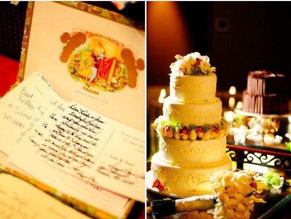 Travel Themed Wedding: Costa Rica-The Cake
