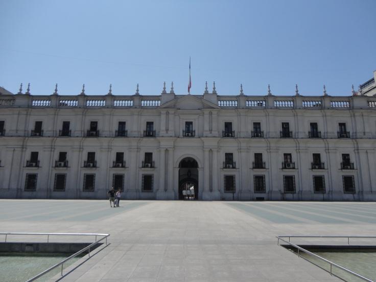 La Moneda, Chilean National Capitol Building. Santiago, Chile