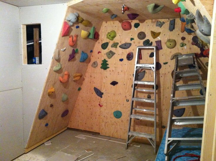 Keep Your Kids Active All Year With a Home Rock Climbing