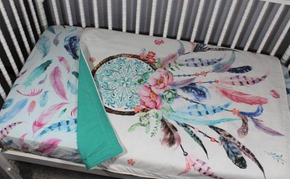 Dream catcher Baby Blanket Dreamcatcher Toddler Comforter