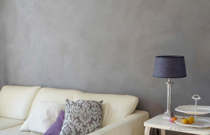 Stucwerk krijgt door Frescolori een aaibare uitstraling. Goed voor masculine woningen, maar ook voor landelijke woonkamers met een vrouwelijke 'touch'