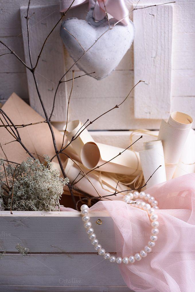 Valentines or wedding still life by Iuliia Leonova on @creativemarket
