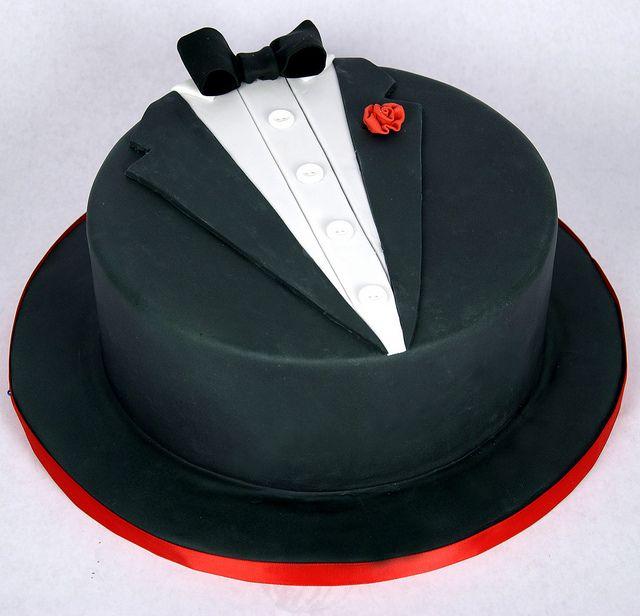 designer tuxedo cake toronto by www.fortheloveofcake.ca, via Flickr