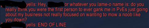 Saw this being yelled in Broken Isles Dalaran tonight. Some people... #worldofwarcraft #blizzard #Hearthstone #wow #Warcraft #BlizzardCS #gaming