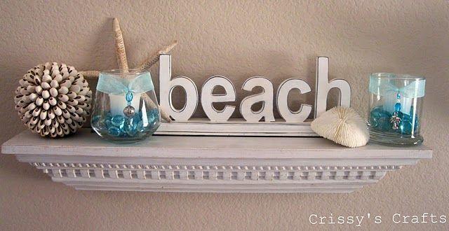 beach is my inspiring for the bathroom!