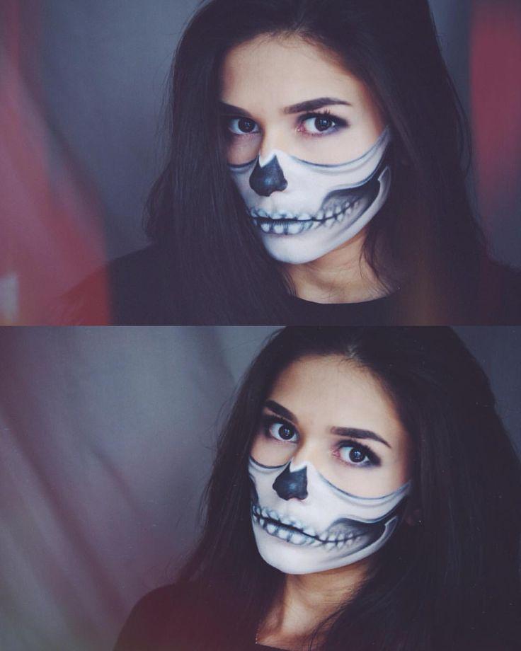 107 отметок «Нравится», 5 комментариев — 💜Katy 💜 (@katyl26) в Instagram: «💀🙊😈💜#halloweenmakeupideas #halloween #halloweenmakeup #halloween2015 #хэллоуин #образнахэллоуин…»