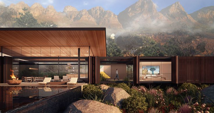 Kunst Architecture and Interiors - CAMPS BAY HOUSE