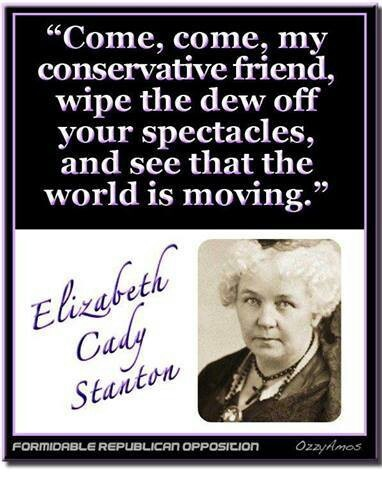 Elizabeth Cady Stanton: I love this woman!!