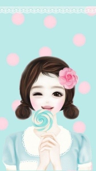 Korean cute Love Wallpaper : 1000+ images about Suran Park / creator of Enakei on Pinterest Glitter graphics, Anime and The ...