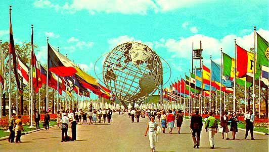 Image result for world's fair Unisphere