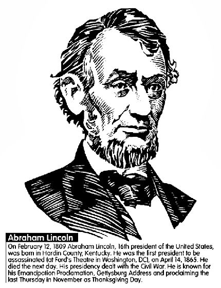 50 best images about crayola on pinterest thomas for Lincoln coloring pages