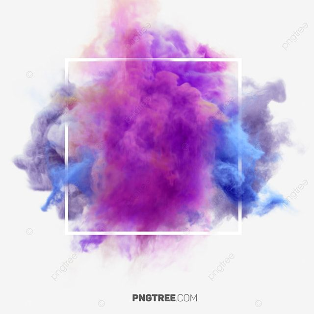 Dark Smoke Effect Color Pastel Square Hologram Png Transparent Clipart Image And Psd File For Free Download In 2021 Rose Flower Png Colored Smoke Smoke Painting