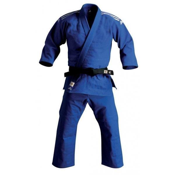Judogi ADIDAS CLUB J930 kimono CHAMPION azul. Primeras calidades y un precio de escándalo