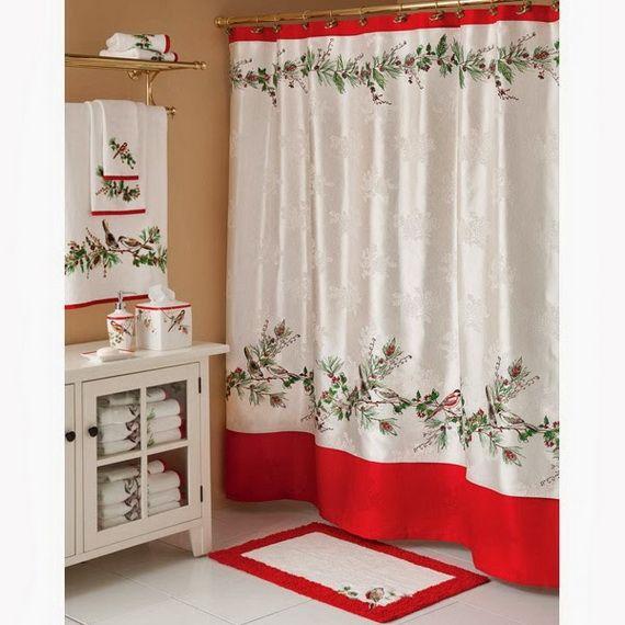 Bathroom Shower Decorating Ideas: 17 Best Ideas About Christmas Bathroom On Pinterest