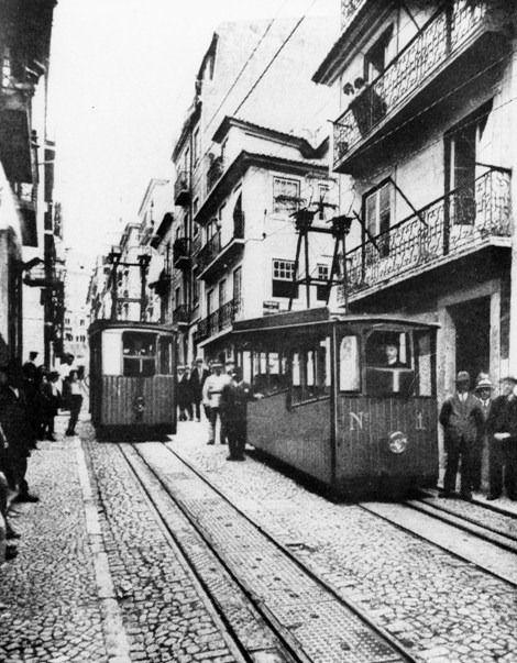 Elevador da Bica, Lisboa, 1926