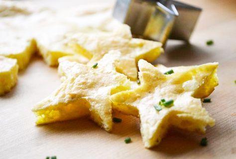 Das Rezept für die Käsesternchen ist eine herrliche #Suppeneinlage für kalte Herbst- oder Wintertage.