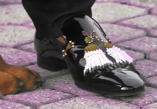 Swaggin shoes... Asap Rocky Wassup