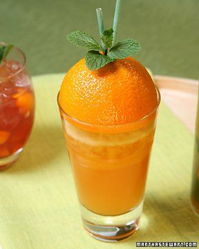 "The ""Munich"" is made with gin (vodka would work too), passion fruit and orange juice with Italian sparkling wine"