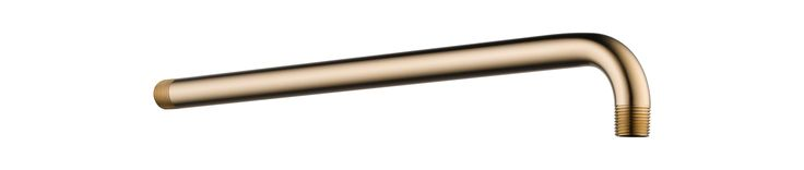 "Delta RP46870 16"" Wall Mounted Shower Arm Champagne Bronze Shower Accessories Shower Arms"