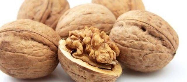 Het lekkerst van verse walnoten