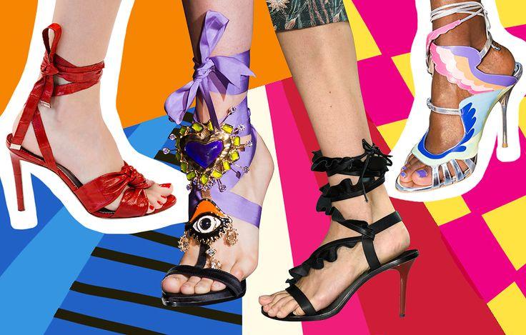 I 3 tipi di sandali col tacco alto che vi serviranno nell'estate 2017