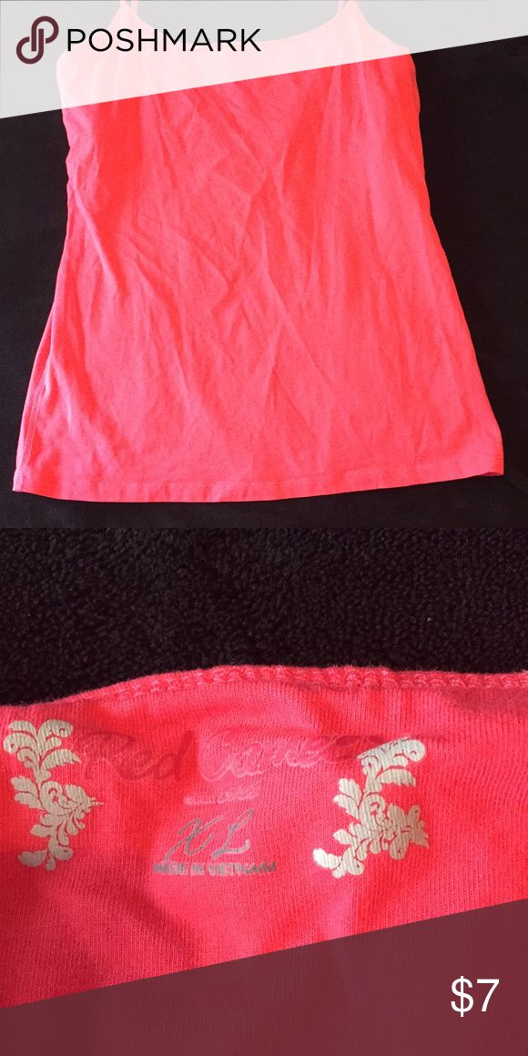 Red Camel Juniors Cami Juniors XL. Pink. Coming from smoke free home.   ➡️Bundle with other items to save!! Red Camel Tops Camisoles