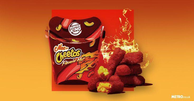 Burger King's US branch has just announced a seriously cheesy addition to its menu – Flamin' Hot Mac n' Cheetos.