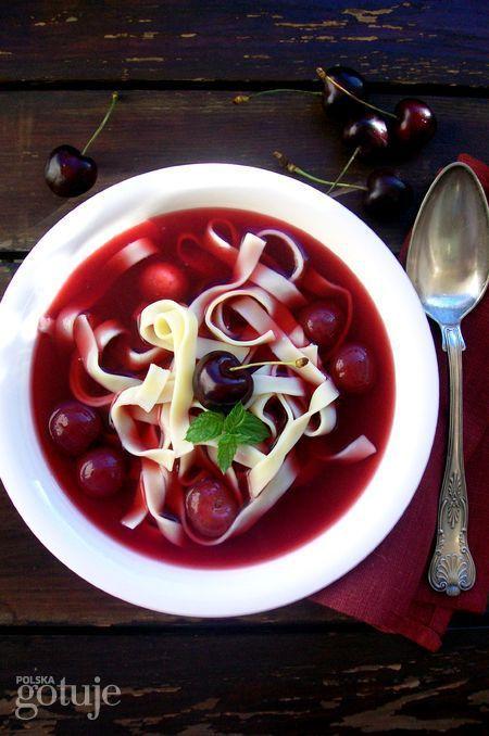 Zupa czereśniowa