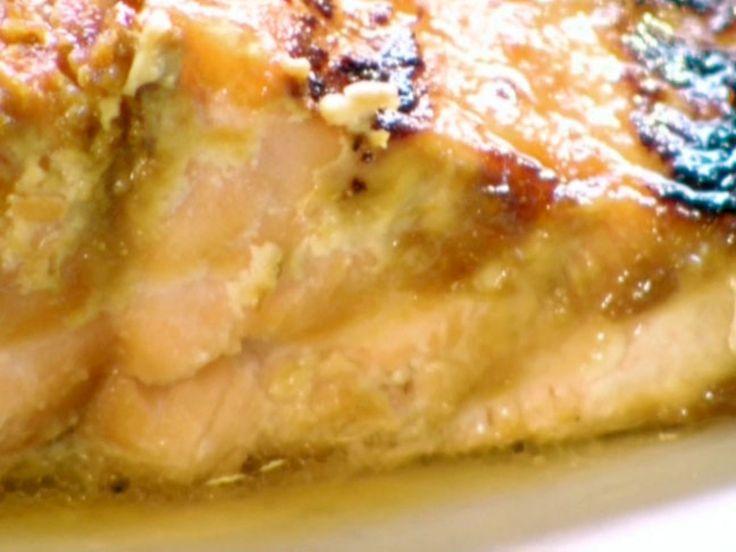Miso Glazed Salmon recipe from BBQ with Bobby Flay via Food Network