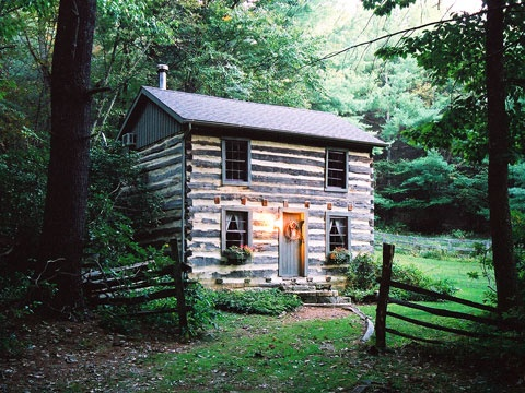 42 best images about rustic retreats on pinterest for Log cabin retreat