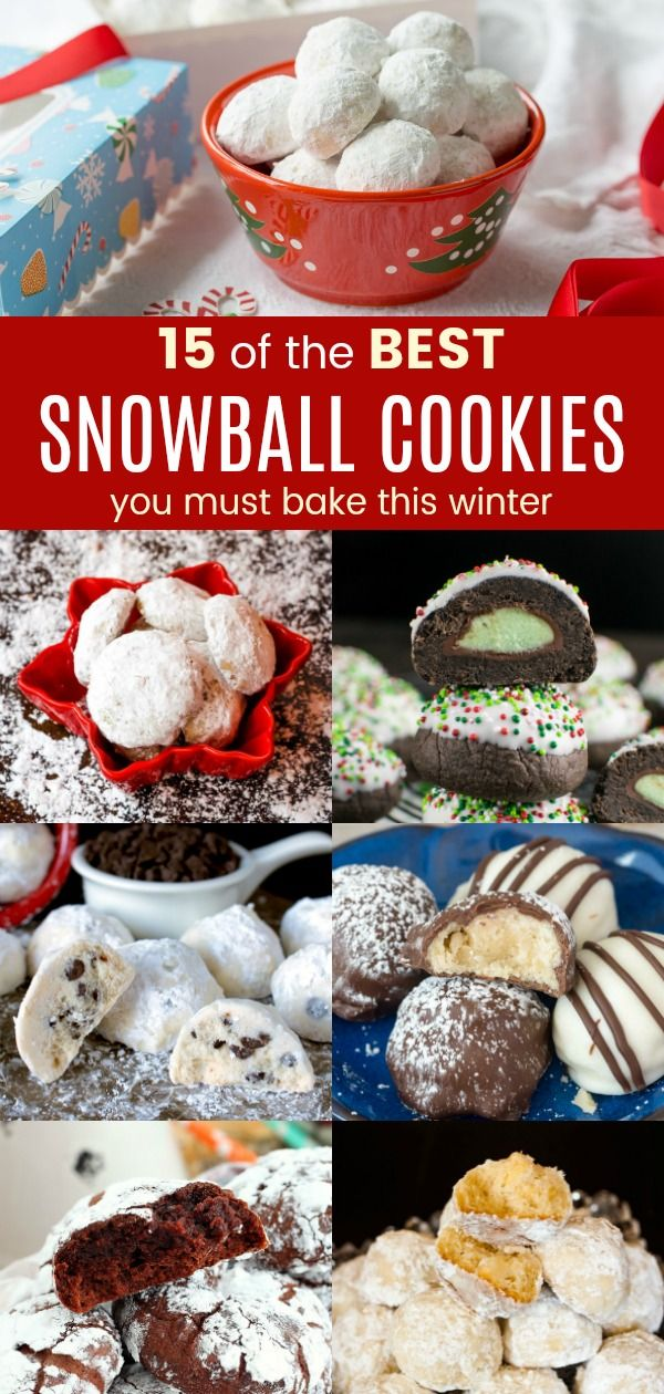 15 Recipes For Snowball Cookies You Must Bake This Winter