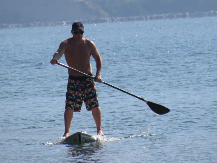 Ionian inland sea, perfect for SUP boarding