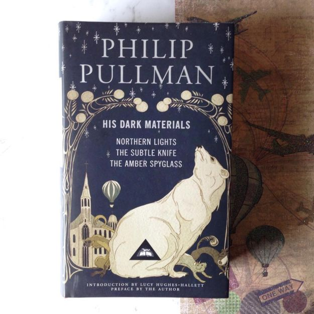 The His Dark Materials trilogy by Philip Pullman