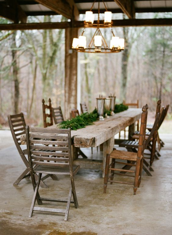 Rustic farm tablescape: http://www.stylemepretty.com/tennessee-weddings/2016/03/20/nashville-bloomsbury-farm-real-proposal/ | Photography: Jenna Henderson - http://jennahenderson.com/: