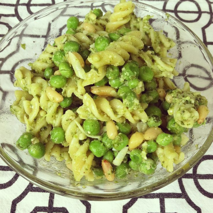 Pasta with pesto and peas the perfect summer pasta Ina garten summer pasta