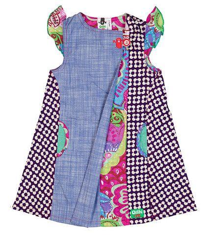 Cha Cha Boom Dress - Big http://www.oishi-m.com/collections/all/products/cha-cha-boom-dress-big Funky kids designer clothing