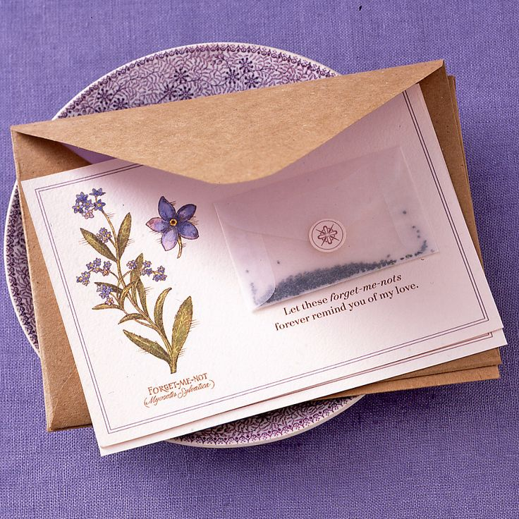 Открытка в виде конверта с марками своими руками