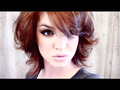 (Part 2 of 2) How to CUT and STYLE your HAIR like LISA RINNA Haircut Hairstyle Tutorial layered shag - YouTube