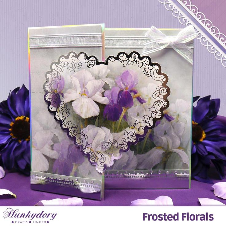Frosted Florals - Hunkydory | Hunkydory Crafts