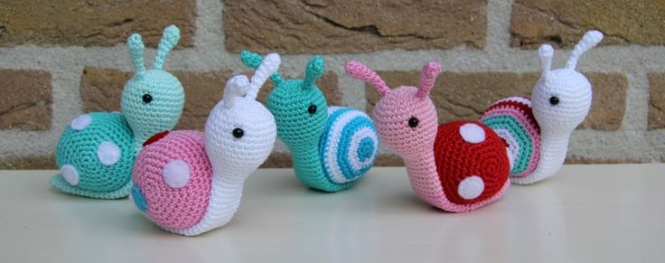 Lumachina amigurumi – Tutorial