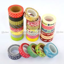 New Arrival Japanese Deco Decorative Craft Paper Adorable Washi Tape Wholesale