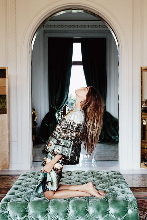 ilariapasson:  Bianca Brandolini d'Adda photographed by Paolo Zerbini for Vogue Russia October 2013