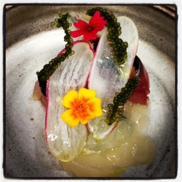 Poisson by Chef Christopher Sayegh (Upland, CA).