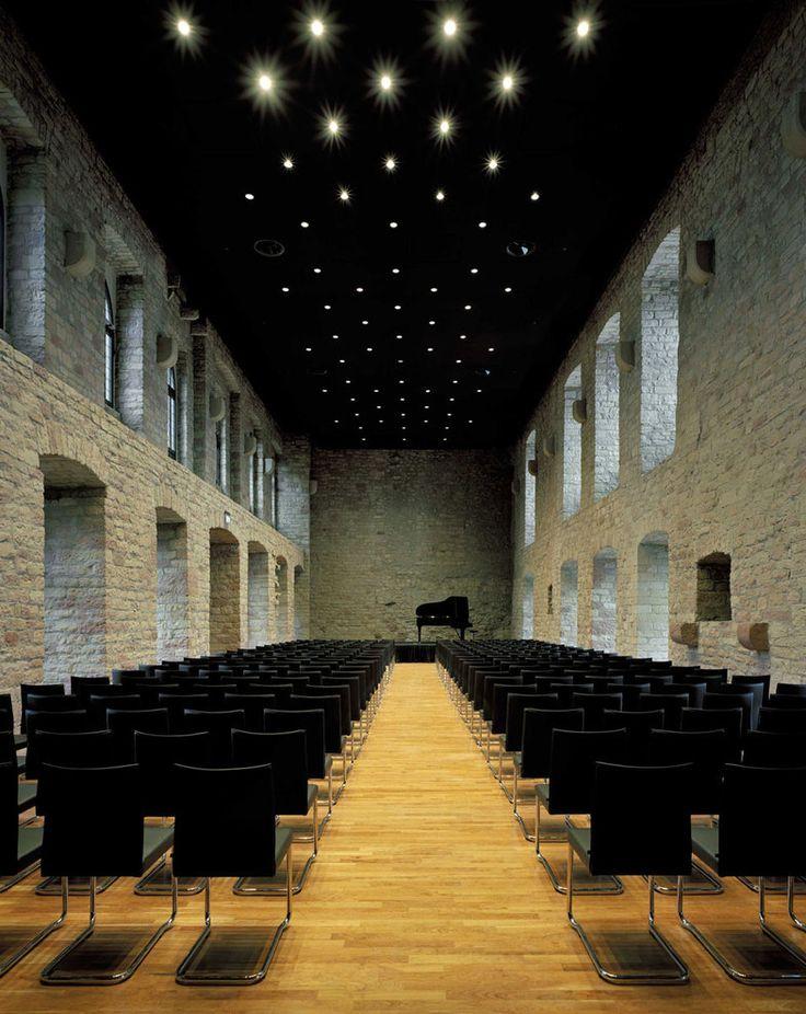 Neustadt an der Weinstraße, Germany Hambach Castle, Restaurant 1832 DAM Prize for Architecture in Germany 2012 Max Dudler Architekt